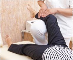 痛みに関係する筋肉をほぐす