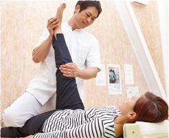 大腿骨頭を調整